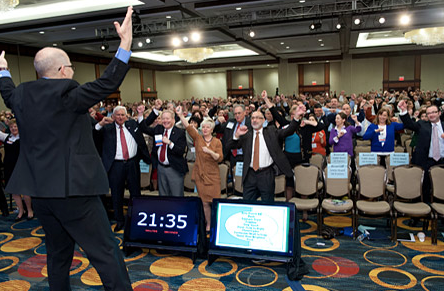 flash mob for meetings