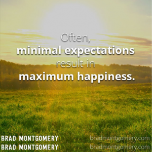 Expectations-happiness