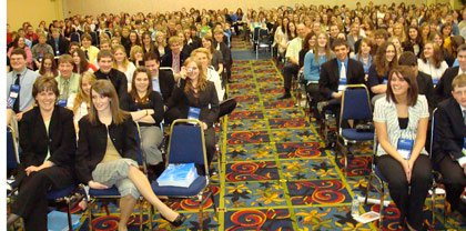 fbla audience in wyoming