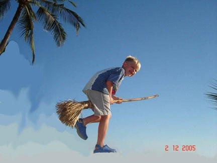 ben on broom