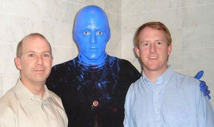 las vegas blue man group photo