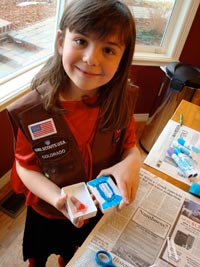 girl scout magic trick with finger