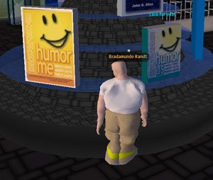 Second Life Speaker Mocks Second Life - Official Site: Funny