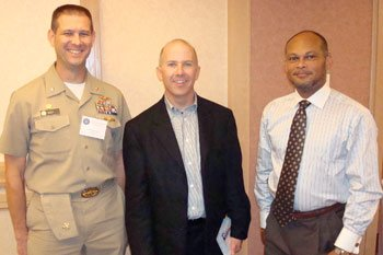 Mr. Charlie Williams & Commander Dan Seep