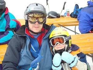 Colorado speaker goes skiing