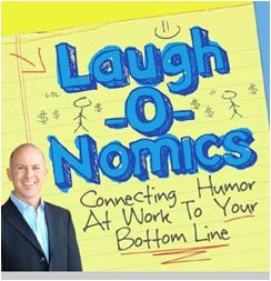 Hire funny keynote speaker Brad Montgomery for connecting humor at your workplace to your bottom place