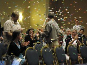 Confetti at conference