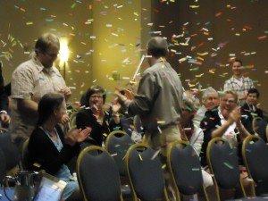 Confetti at conference