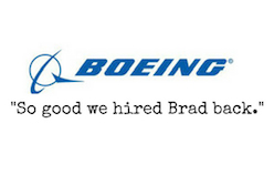 So Good We Hired Brad back - Feedback by BOEING