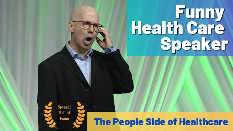 health care speaker has a new video
