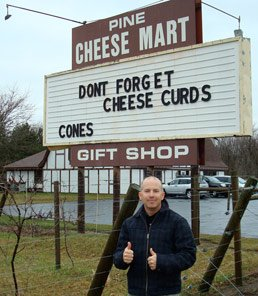cheese mart sign in minnesota