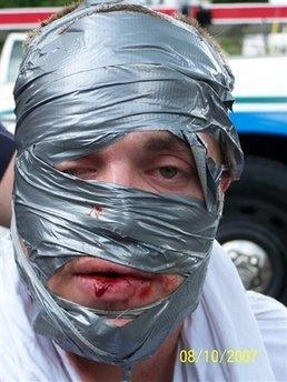 duct tape man