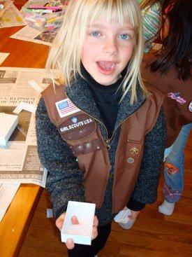girl scout magic trick
