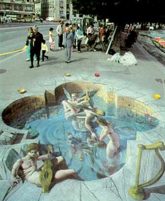 cool street painting